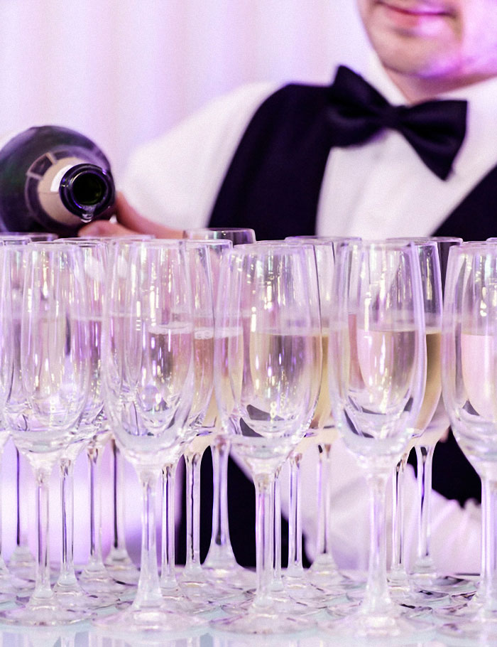 Palmenhaus München Champagnergläser