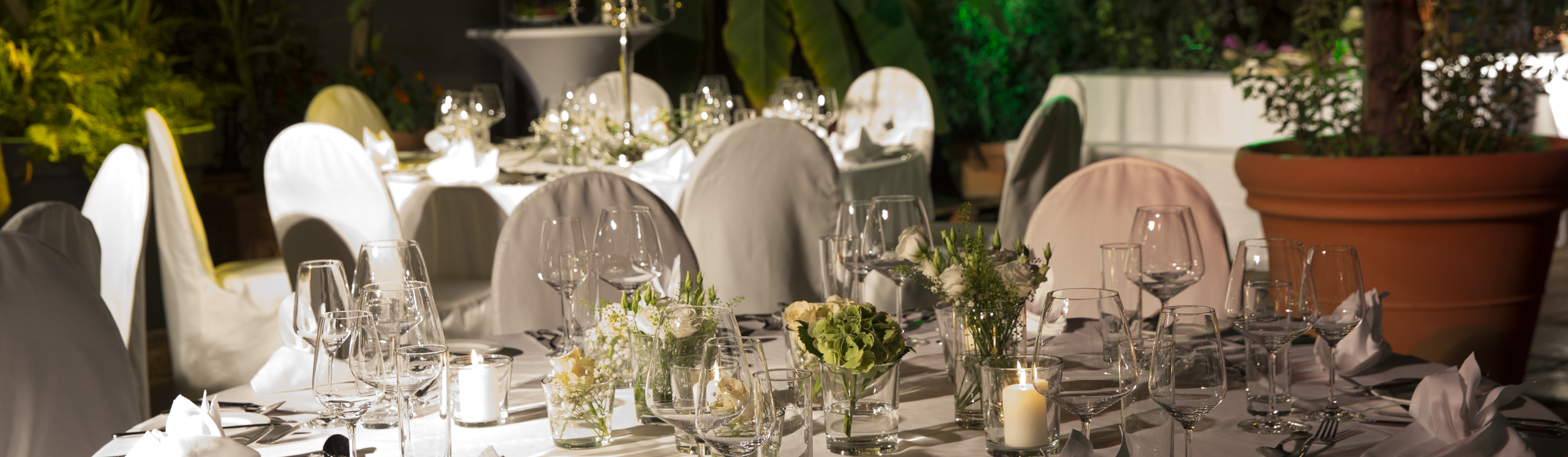 Palmenhaus München Hochzeitstafel