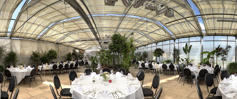 Palmenhaus München - Hochzeitstafel