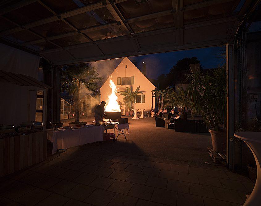 Galerie - große Feuerschale - Palmenhaus München